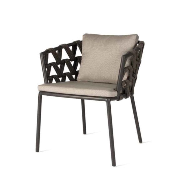 Leone Armchair Leo Vincent Sheppard at DeFrae Contract Furniture Side View