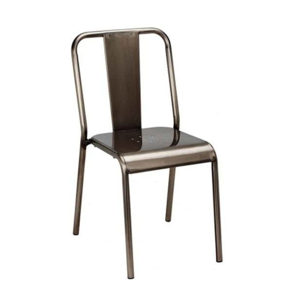Industrial Side Chair from DeFrae Contract Furniture for Restaurant Bar Coffee Shop