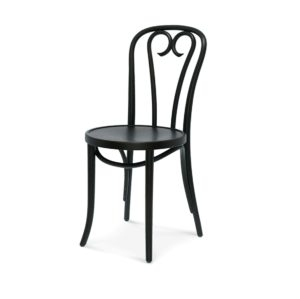 Lily side chair 16 classic bentwood chair DeFrae Contract Furniture Black stain