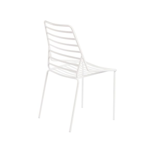 Link Side Chair Gaber at DeFrae Contract Furniture White