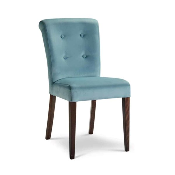 Lori Roll Side Chair Button Back Dining Chair DeFrae Contract Furniture