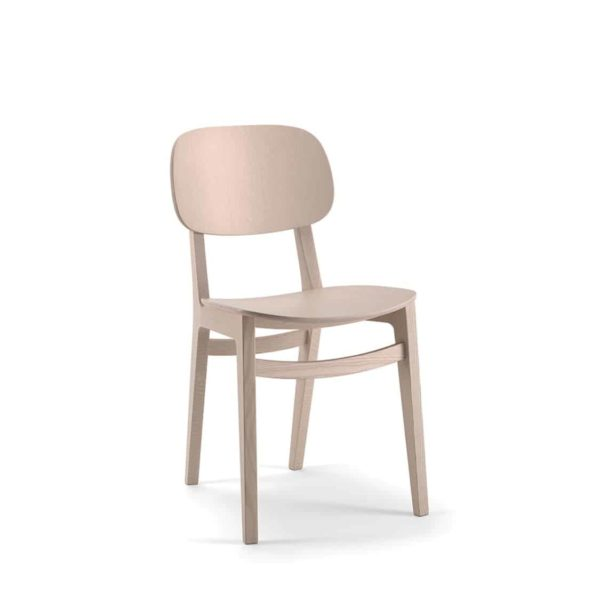 Lottie Side Chair DeFrae Contract Furniture Wooden Restaurant Chair X Kitti Xedra