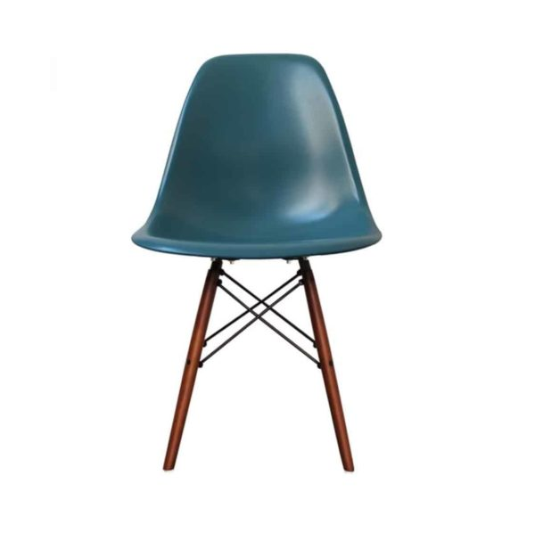 Lyon Side Chair Blue DeFrae Contract Furniture Eiffel Style Side Chair Eames