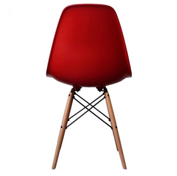 Lyon Side Chair Red DeFrae Contract Furniture Eiffel Style Side Chair Eames