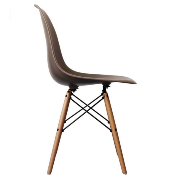 Lyon Side Chair Tan DeFrae Contract Furniture Eiffel Style Side Chair Eames