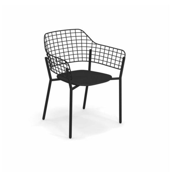 Lyze Armchair Emu DeFrae Contract Furniture Black