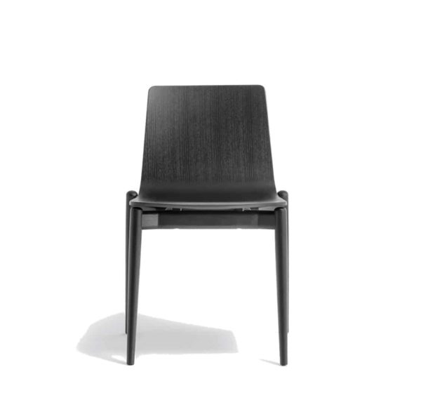 Malmo side chair ashwood DeFrae Contract Furniture Pedrali