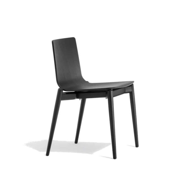 Malmo side chair ashwood DeFrae Contract Furniture Pedrali Side