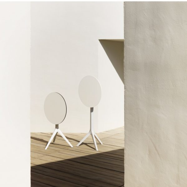 Maria Flip Top Table Base DeFrae Contract Furniture In Situ