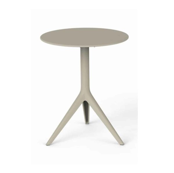 Maria Flip Top Table Base DeFrae Contract Furniture Sand