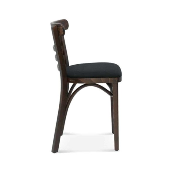 Marshall Chair 225 Wood Restaurant Pub DeFrae Contract Furniture Side View