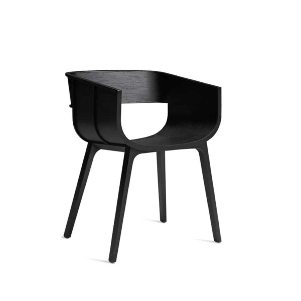 Martime Armchair Horm at DeFrae Contract Furniture Black