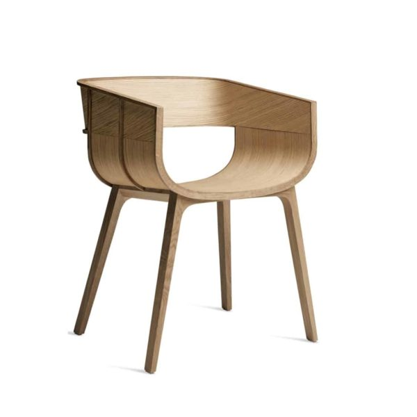Martime Armchair Horm at DeFrae Contract Furniture Natural Oak