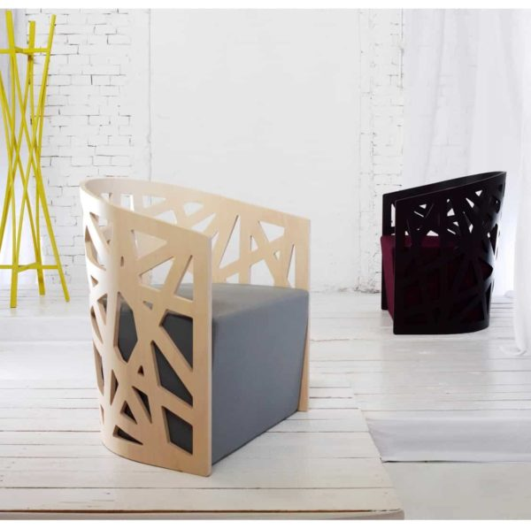 Mazy Armchair Zilio Aldo DeFrae Contract Furniture Ambient