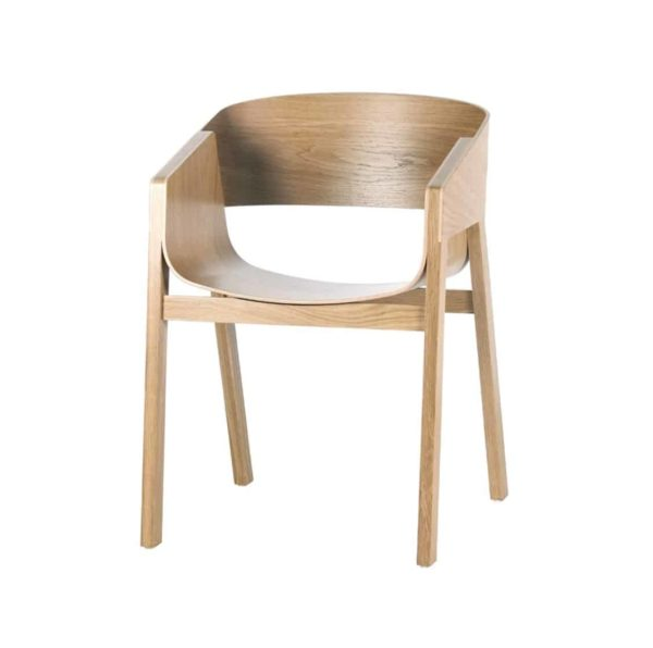Merano Armchair DeFrae Contract Furniture Natural