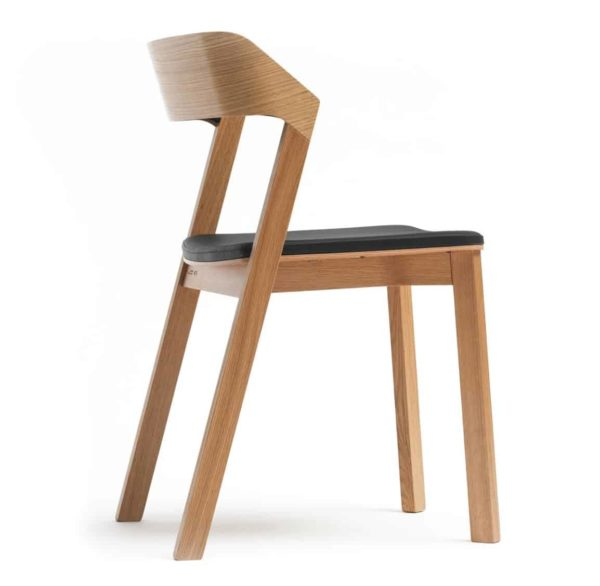 Merano Side Chair Z Back Wood Chair DeFrae Contract Furniture