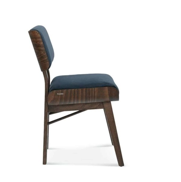 Meridian Side Chair A-1209 DeFrae Contract Furniture side profile
