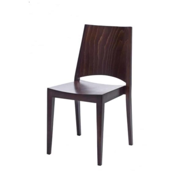 Miami Side Chair A-0707 Wooden Restaurant Chair DeFrae Contract Furniture