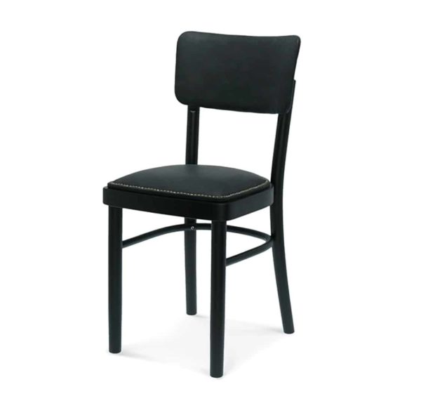 Mick Upholstered Side Chair Restaurant Bar Coffee Shop Pub A-9610 DeFrae Contract Furniture Hero