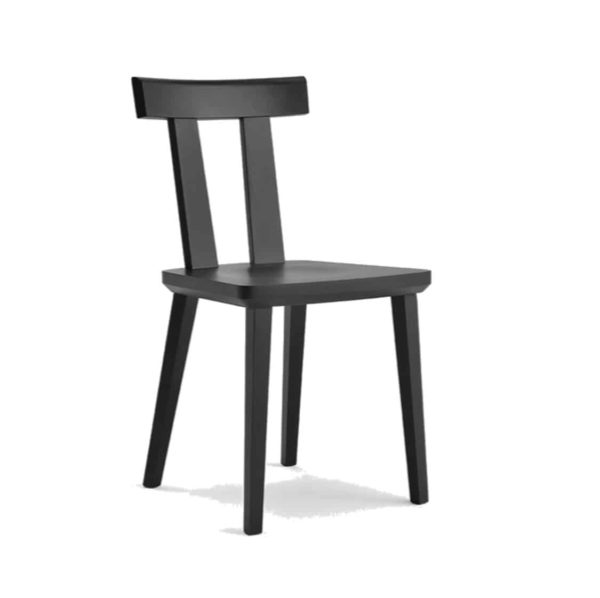 Milano Side Chair Wood Chair DeFrae Contract Furniture Sipa