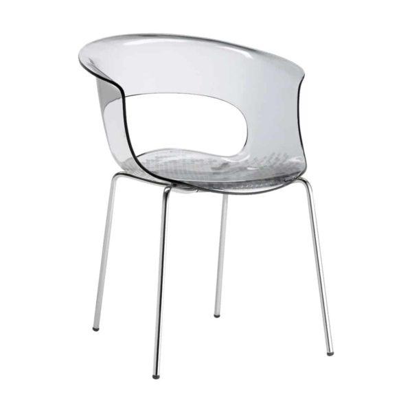 Miss B Armchair DeFrae Contract Furniture Transparent