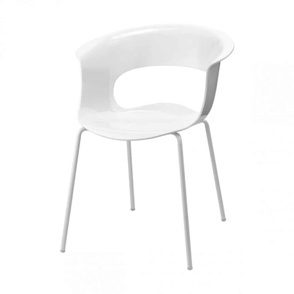 Miss B Armchair DeFrae Contract Furniture White