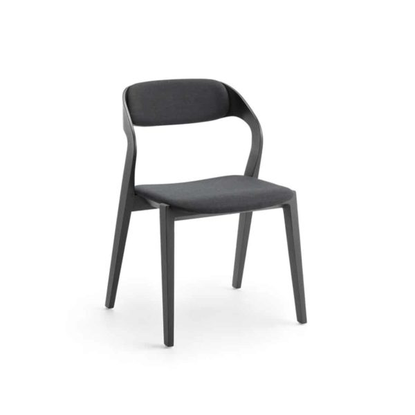 Mixis Side Chair RS Crassevig at DeFrae Contract Furniture Black