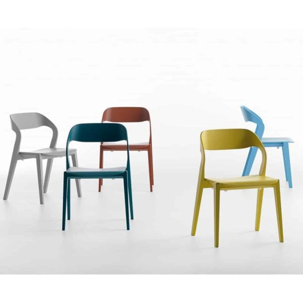 Mixis Side Chair RS Crassevig at DeFrae Contract Furniture Colours Range