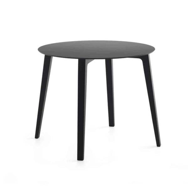 Mixis TD Round Table DeFrae Contract Furniture Black