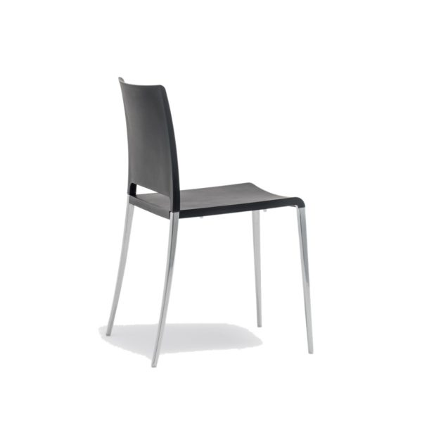 Mya 700 Side Chair Pedrali at DeFrae Contract Furniture Black