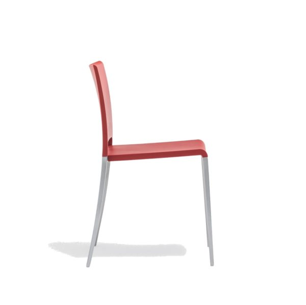 Mya 700 Side Chair Pedrali at DeFrae Contract Furniture Red Side