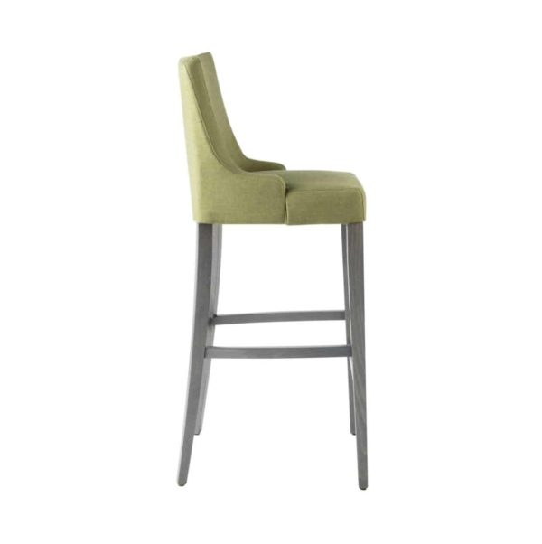 Nancy Bar Stool SG01 DeFrae Contract Furniture Base 10 High Back Side View