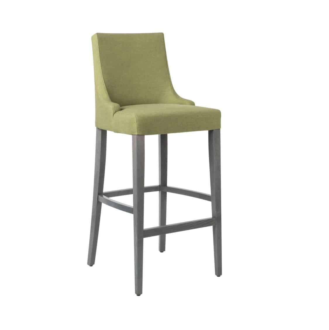 Nancy Bar Stool SG01 DeFrae Contract Furniture Base 10 High Back
