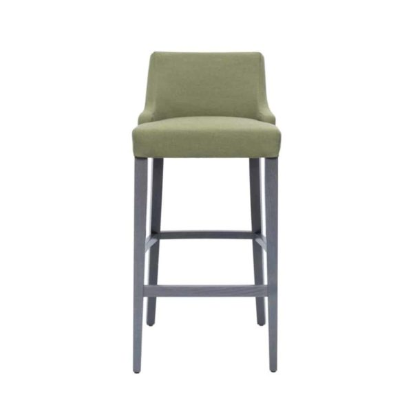 Nancy Bar Stool SG01 DeFrae Contract Furniture Base 10 Low Back Front View