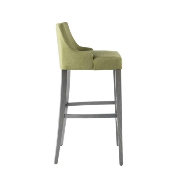 Nancy Bar Stool SG01 DeFrae Contract Furniture Base 10 Low Back Side View