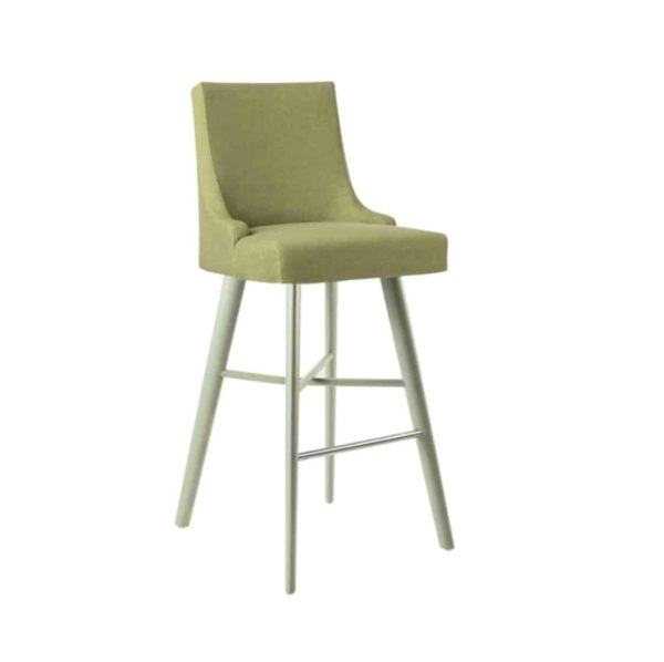 Nancy Bar Stool SG01 DeFrae Contract Furniture Base 14 High Back