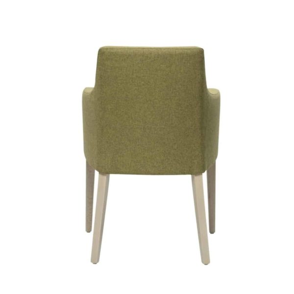 Nancy P001 Armchair DeFrae Contract Furniture Base 10 Back View