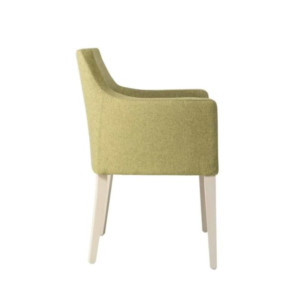 Nancy P001 Armchair DeFrae Contract Furniture Base 10 Side View