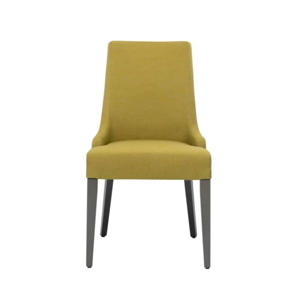 Nancy SE01 DIning Chair DeFrae Contract Furniture Base 10 Front View
