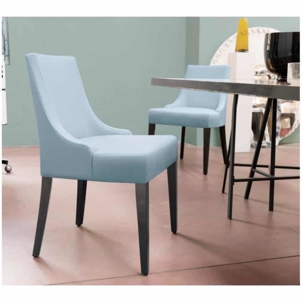Nancy SE01 DIning Chair DeFrae Contract Furniture Base 10 In Situ