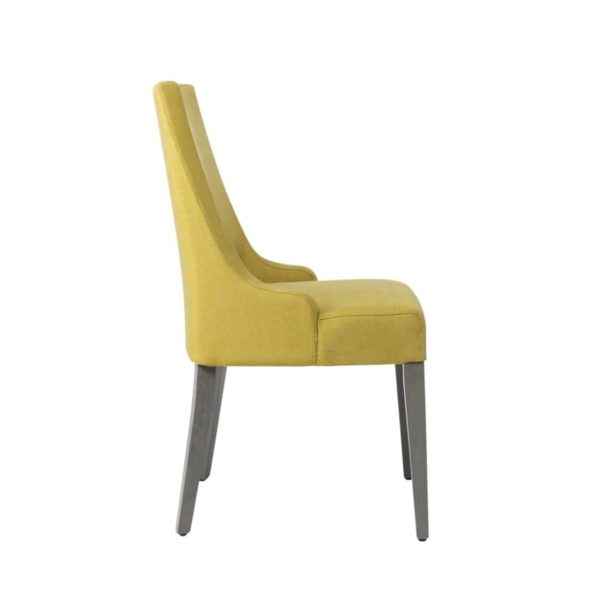 Nancy SE01 DIning Chair DeFrae Contract Furniture Base 10 Side View