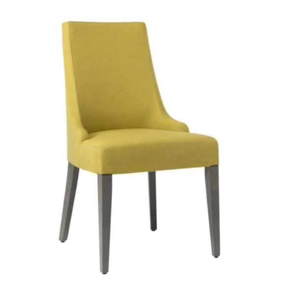 Nancy SE01 DIning Chair DeFrae Contract Furniture standard wooden legs
