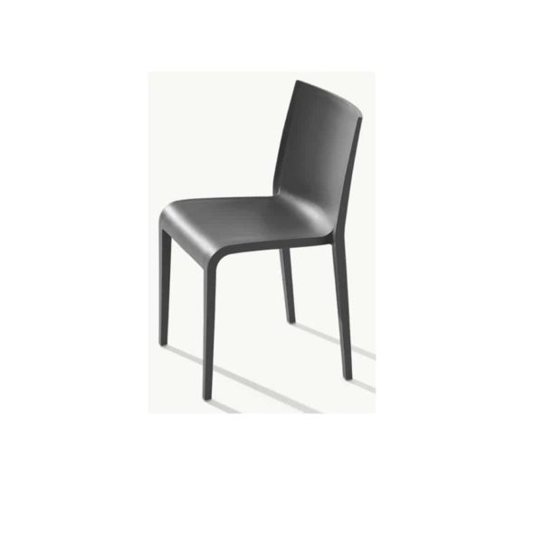 Nassau 533 Side Chair DeFrae Contract Furniture Anthracite