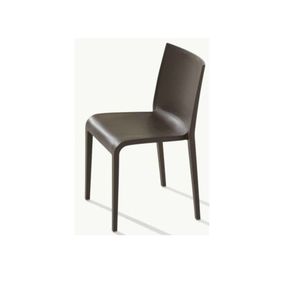 Nassau 533 Side Chair DeFrae Contract Furniture Cocoa