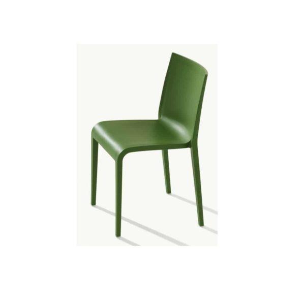 Nassau 533 Side Chair DeFrae Contract Furniture Grass Green