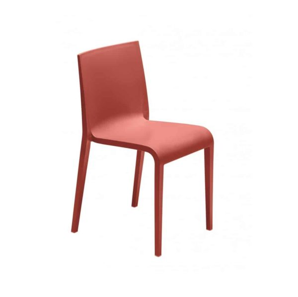 Nassau 533 Side Chair DeFrae Contract Furniture Marsala Red