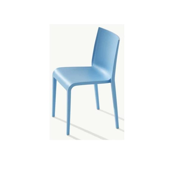 Nassau 533 Side Chair DeFrae Contract Furniture Sky Blue