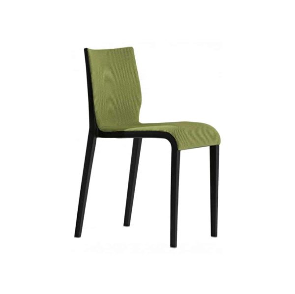 Nassau 533m Side Chair DeFrae Contract Furniture Upholstered Seat and Back