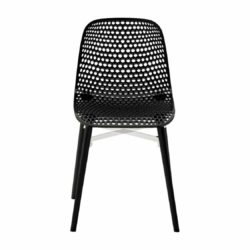 Next Outdoor Side Chair DeFrae Contract Furniture Black