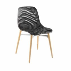 Next Side Chair DeFrae Contract Furniture Black